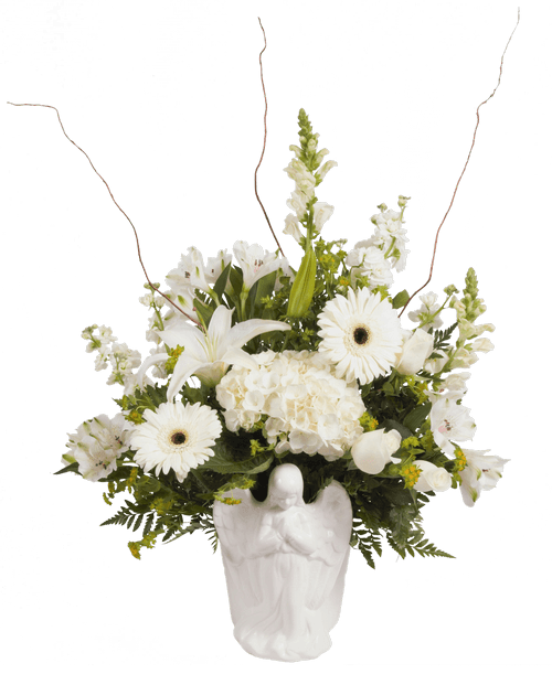 Praying angel arrangement royer 39 s flowers and gifts for Praying angel plant