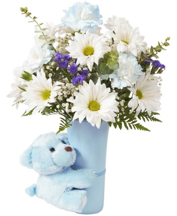 Baby royers flowers and gifts flowers plants and gifts with ftd baby boy big hug 3615 negle Choice Image