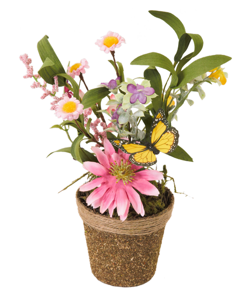 Silk spring flower twig pot pink daisy royers flowers and gifts silk spring flower twig pot pink daisy royers flowers and gifts flowers plants and gifts with same day delivery for all occasions mightylinksfo